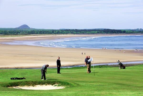Links Golf Near Edinburgh - Scotlands Golf Coast